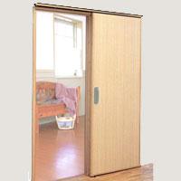 引き戸等への扉の取り換え
