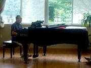 ジャズピアノ前原さん