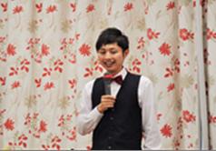 白井隆仁(MC&リードボーカル)